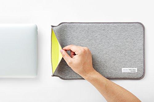 ペロカリエンテ ライトフィッター13インチ Macbook Air ケース カバー 13inch (グレー)