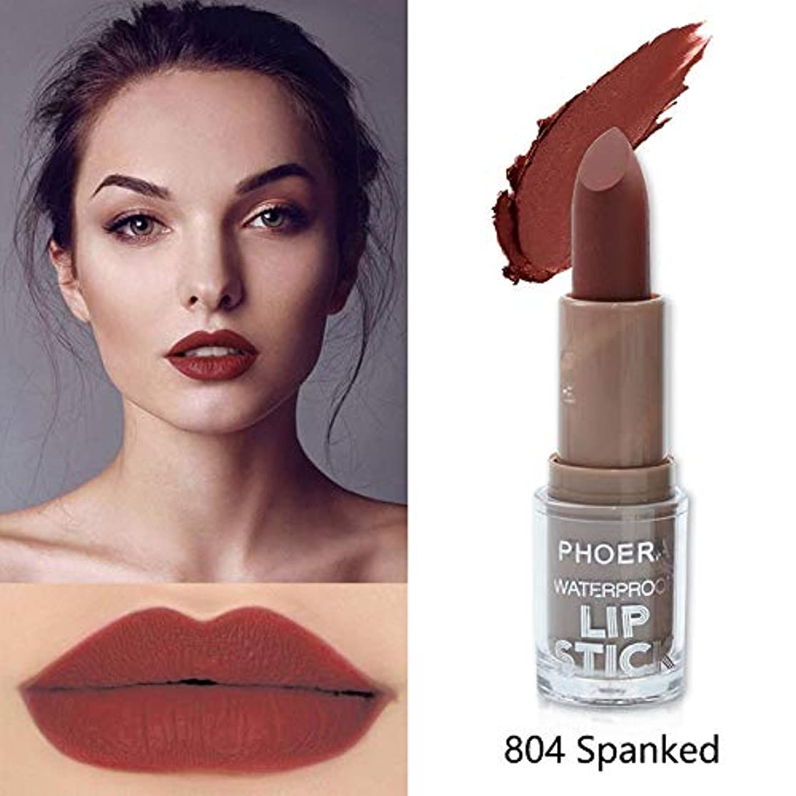 禁じる吐くタイマーBeauty Matte Moisturizing Lipstick Makeup Lipsticks Lip Stick Waterproof Lipgloss Mate Lipsticks Cosmetic