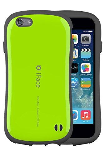 iPhone6s iPhone6 ケース カバー iFace First Class ストラップホール付き 正規品 / グリーン