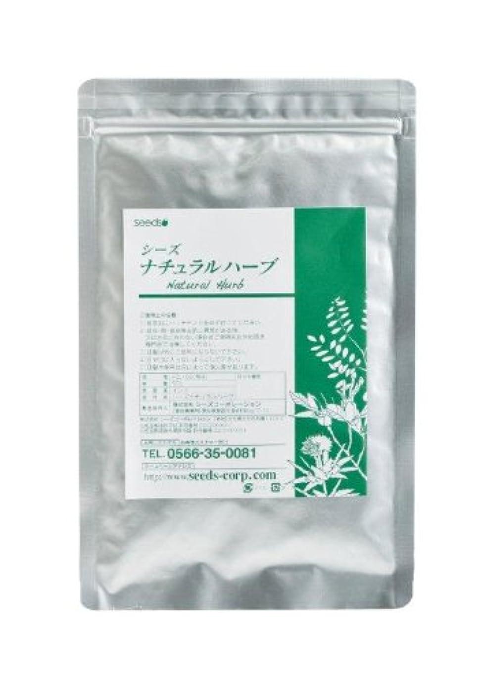 行商人宅配便放映Seeds ナチュラルハーブカラー マホガニー 50g(紅褐色系)ヘナと5種類の高級ハーブをブレンドした白髪染めです。