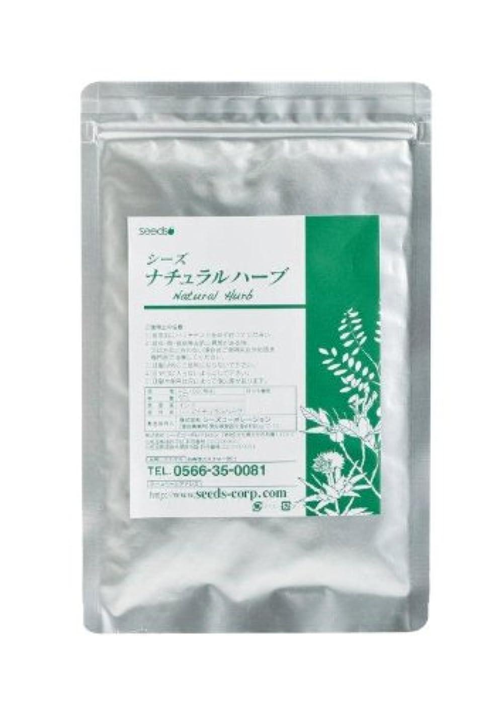 過激派溶接密度Seeds ナチュラルハーブカラー?ソフトブラック 50g (自然な黒色系)ヘナと5種類の高級ハーブをブレンドした白髪染めです。