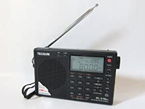 BCLラジオ PL-310ET (PL-310の新型) 高感度 短波ラジオ 短波/AM/FMラジオ ブラック(黒)