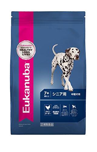 ユーカヌバ シニア 小粒 中型犬 7.5kg