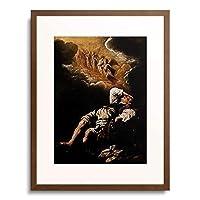 ドミニコ・フェッティ Domenico Fetti Feti 1589-1623 「The Dream of Jacob's Ladder.」 額装アート作品