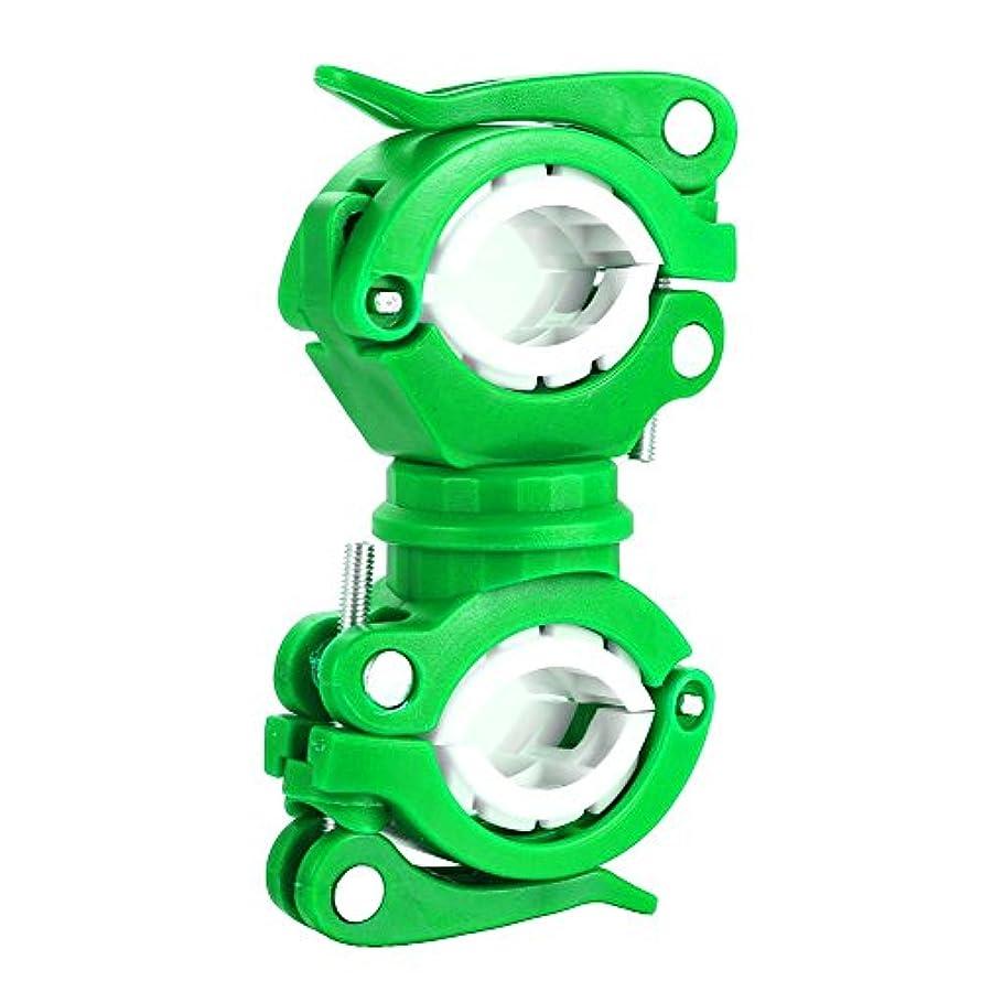 取り組むすり減る事実上Fashionwu ラバー ライトマウント グリップ用 360度回転 自転車 懐中電灯ホルダー 取付用