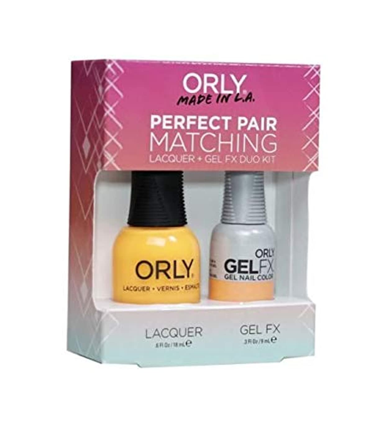 保守的スコア尊敬するOrly Lacquer + Gel FX - Perfect Pair Matching DUO Kit - Tropical Pop