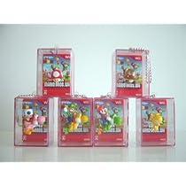 ニュー SUPER マリオ BROS Wii立体ジャケット マスコット 6種 全6種 1 スーパーキノコ 2 クリボー 3 プロペ