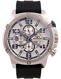 [テクノス] 腕時計 T8A27SS メンズ ブラック