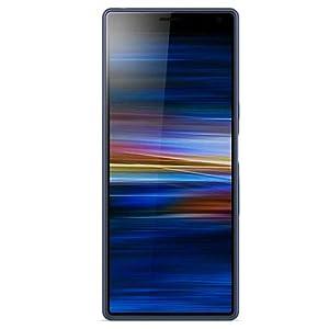 Sony Xperia 10 Plus (I4293) 6GB / 64GB 6.5インチLTEデュアルSIM SIMフリー [並行輸入品] (Navy/ブルー)
