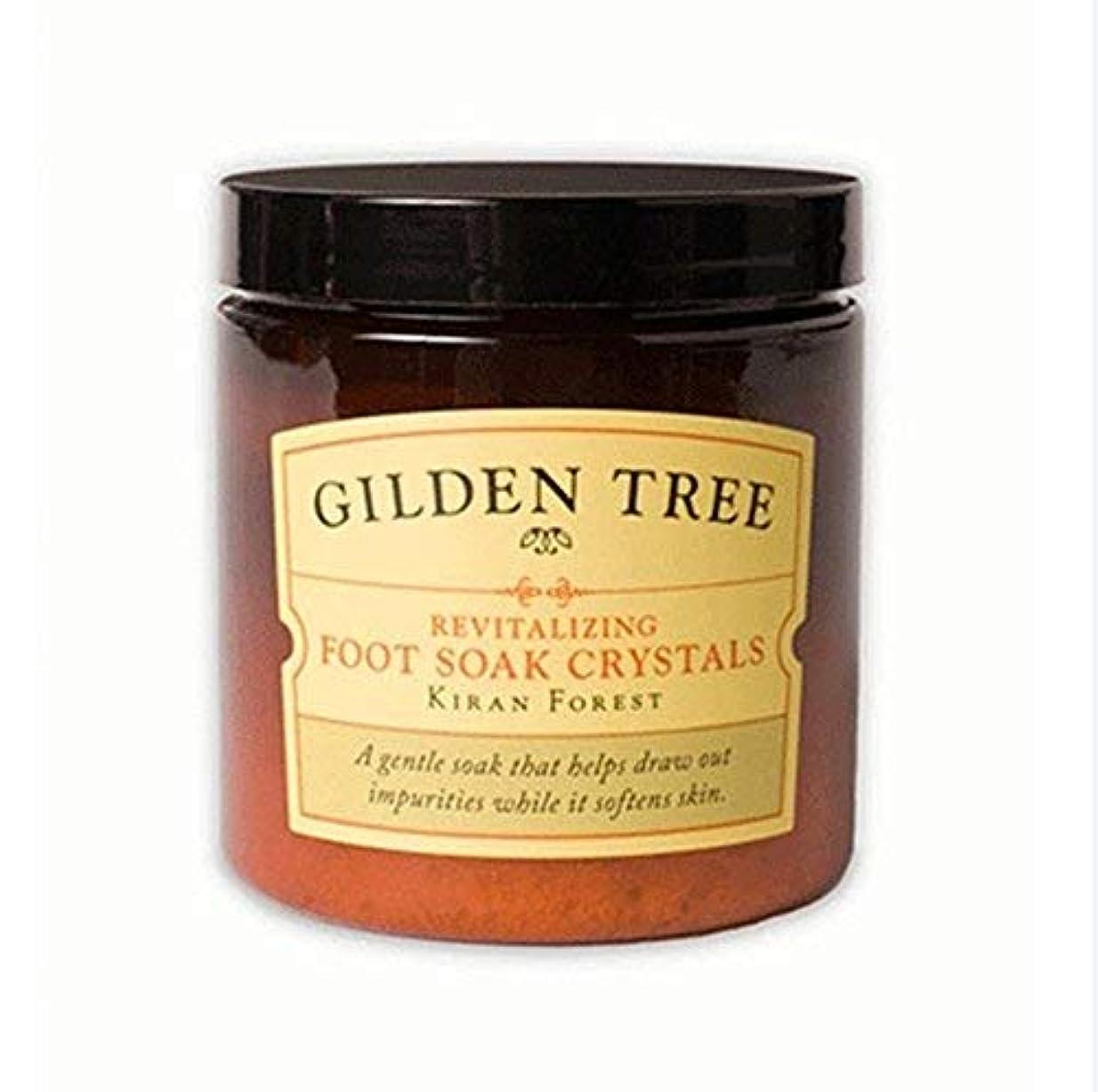 コロニアルホイットニーシャッターGilden Tree Revitalizing Foot Soak Crystals 8 oz. [並行輸入品]
