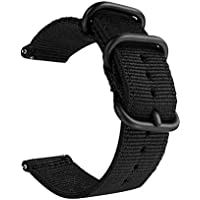 Quick Release Nylon Watch Band Two-Piece NATO Strap Width 18mm,20mm,22mm,24mm