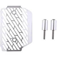 P Prettyia 交換レギュレータ整流器カバー ヤマハXSR900 2016-2018に対応 実用 高品質 全2色 - 銀