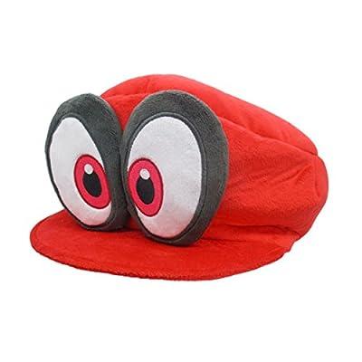 スーパーマリオ SUPERMARIO ODYSSEY キャッピー(マリオの帽子)  ぬいぐるみ  全長27cm