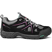 Karrimor Kids Summit Lace Up Leather Breathable Outdoor Walking Trekking Shoes