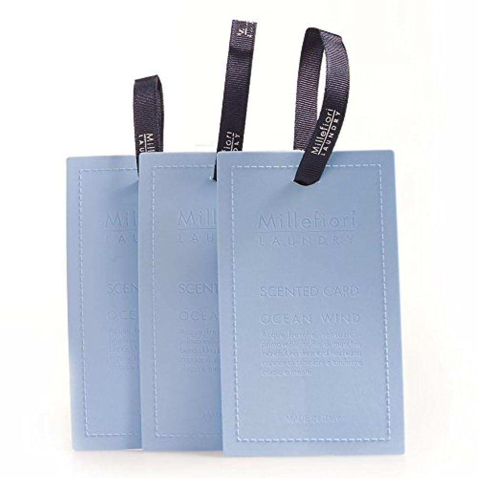 お香ゴム反対するMillefiori センテッドカード オーシャンウィンド CARD-A-004