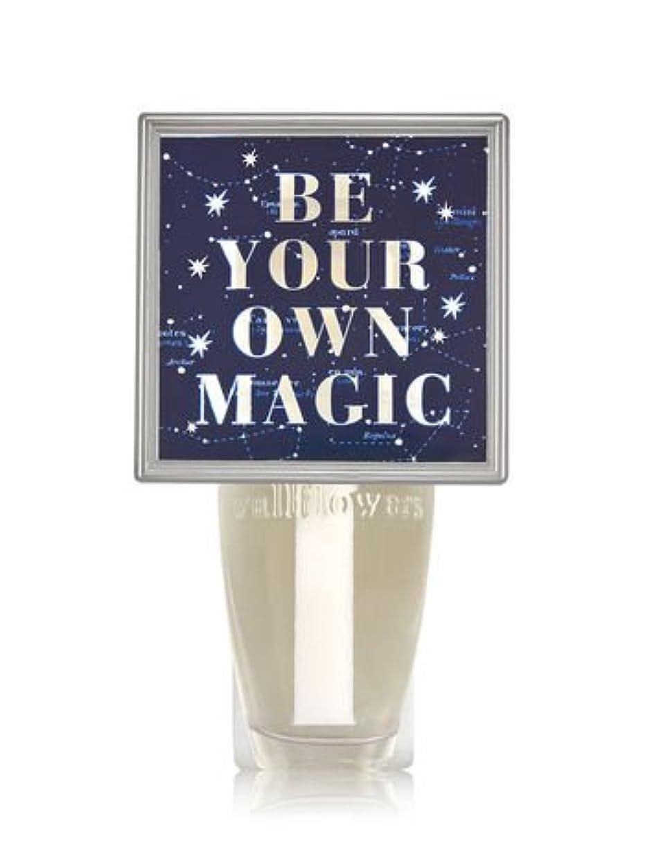 葬儀分析するフィット【Bath&Body Works/バス&ボディワークス】 ルームフレグランス プラグインスターター (本体のみ) ナイトライト Wallflowers Fragrance Plug Be Your Own Magic [...