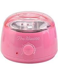 プロフェッショナル暖かいワックスヒーター脱毛ツールミニスパ手足パラフィンワックス機ボディ脱毛ワックス豆ホットワックス脱毛脱毛ワックス機500CC (Color : Pink)