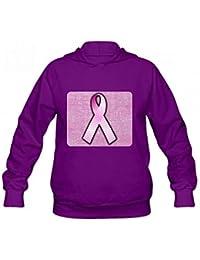 乳がんピンクリボン Women Hoodie Sweater レディーズ トップス パーカー アクティブウェア