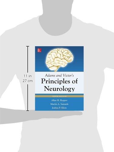 Adams & Victor's Principles of Neurology 10th Edition (Adams and Victors Principles of Neurology)