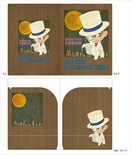 名探偵コナン キッド ビンテージポップダブルポケットクリアファイル