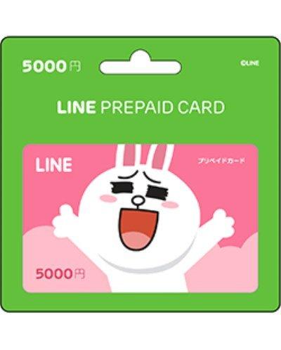 LINE プリペイドカード 5000