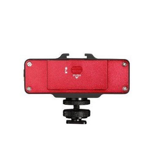 『Saramonic 正規品 スマートミキサー マイクミキサー スマホ用 本格的 レコーディングステレオマイクロフォン 録音 宅録 実況 放送 モバイルビデオ制作用に最適化 赤』の6枚目の画像