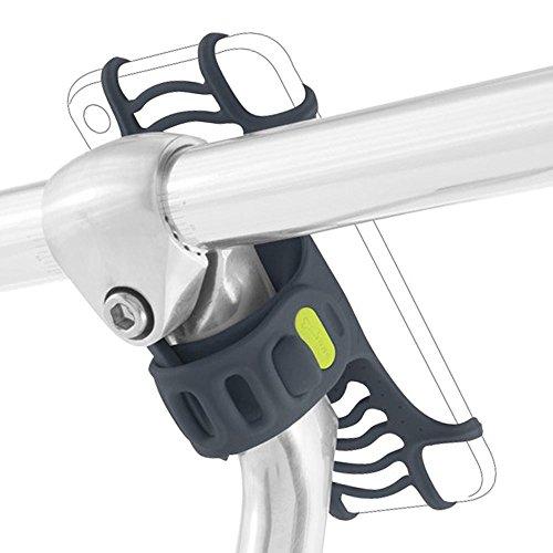 Bone シリコン製 スマホホルダー BikeTie 自転車 バイク ベビーカー iPhone 7 Plus まで対応 Android iFデザイン賞2016受賞【日本正規総代理店】 (ダークブル_PRO)