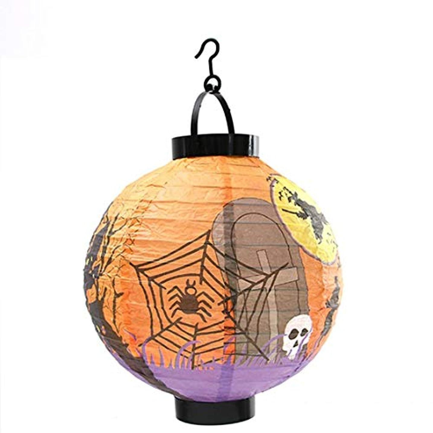 地図変成器絶えず1ピースティッシュペーパーランタンボールぶら下げゴースト小道具用キッズハロウィン装飾イベントパーティー用品