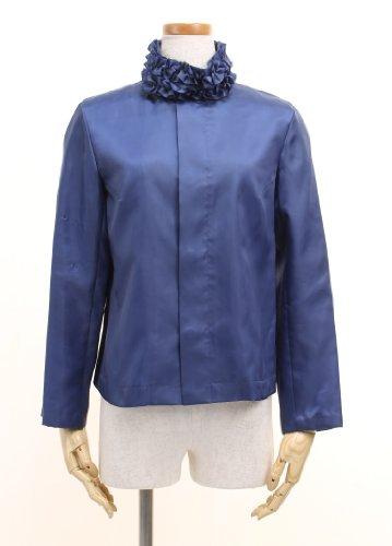 襟フリルサテンジャケット[USED] コム・デ・ギャルソン
