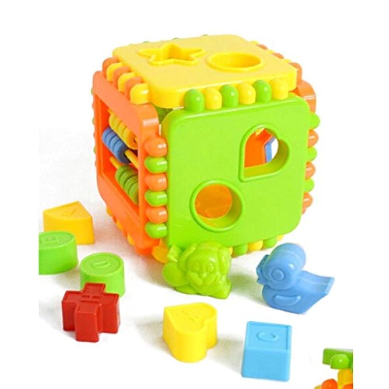 教育インテリジェンスプラスチックビルディングブロック子ギフト玩具開発パズル