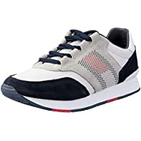 TOMMY HILFIGER Men's Signature Suede and Mesh Trainers Signature Suede and Mesh Trainers