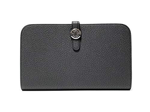 HERMES エルメス Dogon/ドゴン GM ブラック 長財布 [C刻印(18年製)] [並行輸入品]