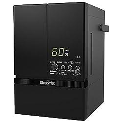 三菱重工 スチーム式加湿器(木造10畳まで/プレハブ洋室17畳まで ブラック)スチーム加湿器roomist(ルーミスト) SHE60PD-K