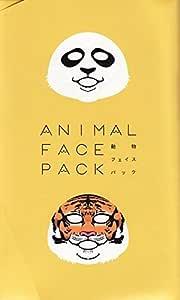 動物 フェイス パック ANIMAL FACE PACK パンダ トラ