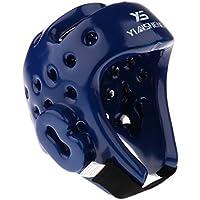 Perfk 格闘技 キックボクシング ボクシング ヘルメット ヘッドギア 首プロテクター 超耐久性 快適 周辺視力 換気 提供 全2サイズ2色