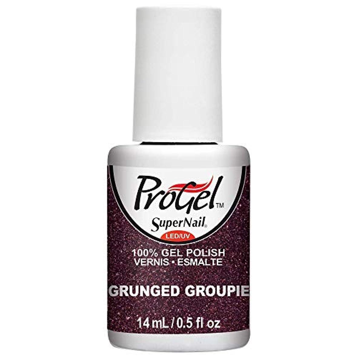 地区ローン関係ないSuperNail ProGel Gel Polish - Grunged Groupie - 0.5oz/14ml
