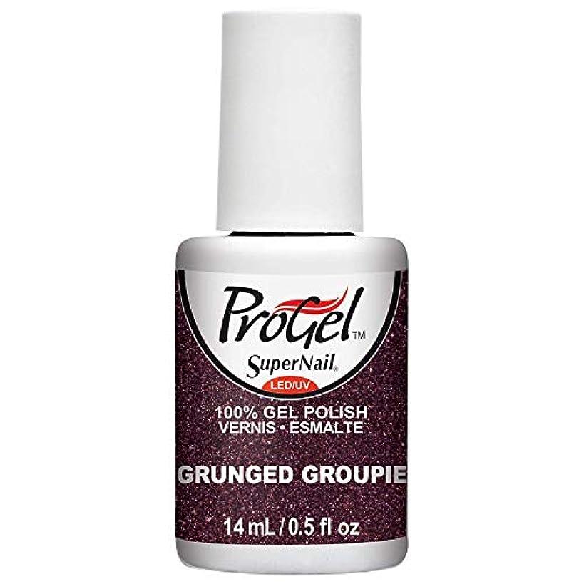足音ホットアクセシブルSuperNail ProGel Gel Polish - Grunged Groupie - 0.5oz/14ml