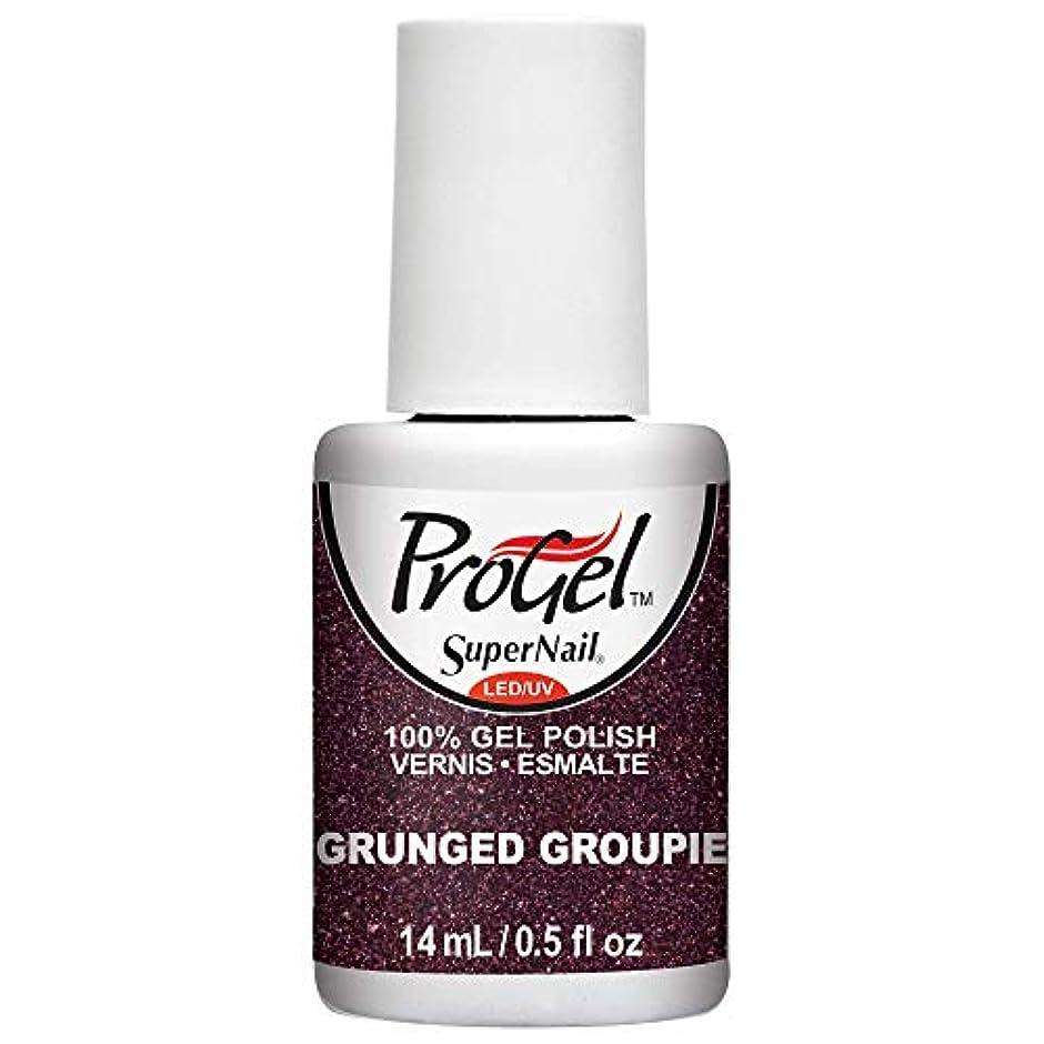 海嶺敬算術SuperNail ProGel Gel Polish - Grunged Groupie - 0.5oz/14ml