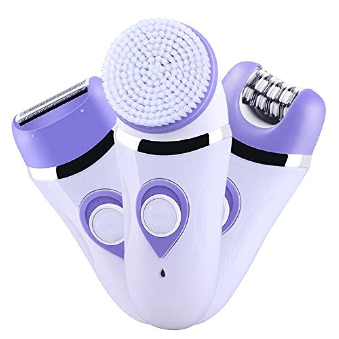 サイバースペース翻訳者機械的女性用多機能電動脱毛装置、痛みのない3-In-1ビキニトリマー、脱毛専用ツール