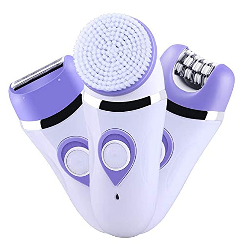 植木従者否認する女性用多機能電動脱毛装置、痛みのない3-In-1ビキニトリマー、脱毛専用ツール