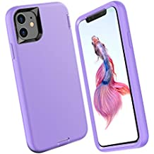 ORIbox Silicone Case for iPhone 11, Shockproof Anti-Fall Protective case, Soft-Touch Finish of The Silicone Exterior Feels