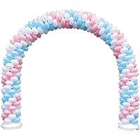 【風船:バルーン】クラスターバルーン:アーチキット(2ホワイト/ピンク/ライトブルー計70個)
