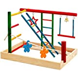 Birdie Play Gym Centre Bird Toy, Medium