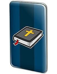 クロスクリスチャン宗教聖書メタル矩形ラペル帽子ピンタックタックピンバック