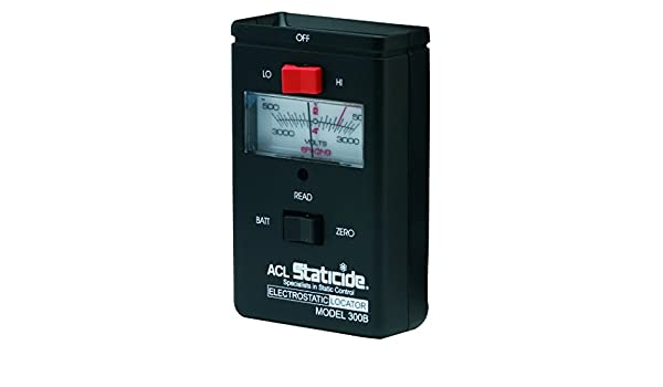 ACL 300B Compact Analog Static Charge Meter