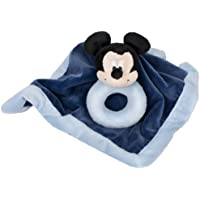 Disney Baby Security Blanket with Ring Rattle, Mickey (Discontinued by Manufacturer) by Disney [並行輸入品]