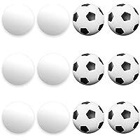 BrybellyホールディングスGFOO-003 12混合Foosballs、スムーズ6サッカースタイルと6を含みます