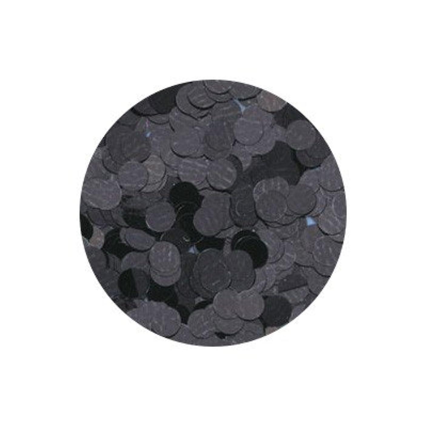 保安嵐日帰り旅行にピカエース ネイル用パウダー 丸カラー 1mm #402 ブラック 0.5g