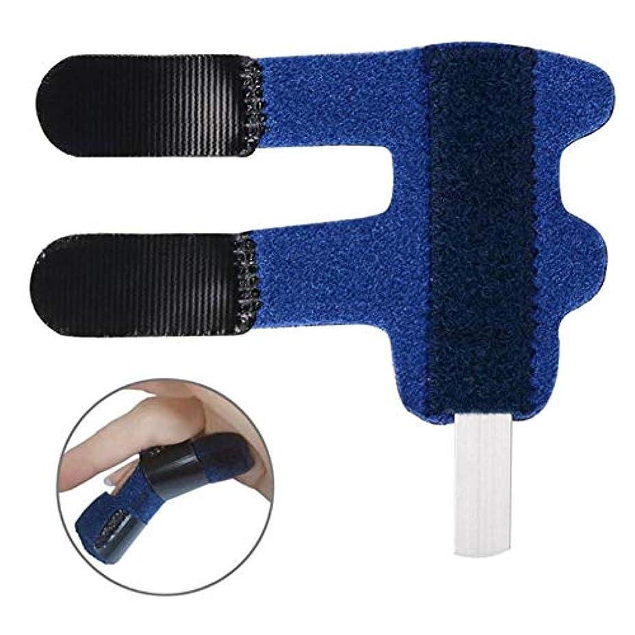 悪意肌約束する関節炎ナックルImmobilizatinラップ骨折腱捻挫関節の痛みを軽減するためのアルミ製ばね指のスプリント