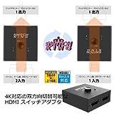 エアリア HDMI切替器 SD-H2SW
